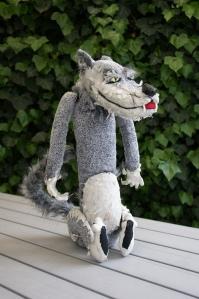 Tischfigur Wolf für Barbara Haffner Olten/Schweiz